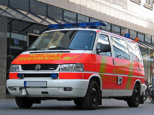German ambulance Image credit: Sven Storbeck