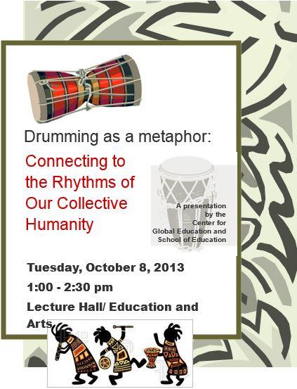 Drumming as a Metaphor