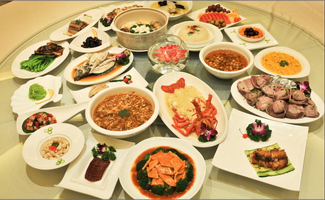 an example photo taken from web - Chinese New Year Dinner