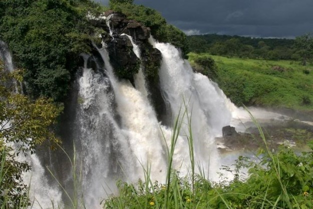 Ashima Falls  In Central African Republic