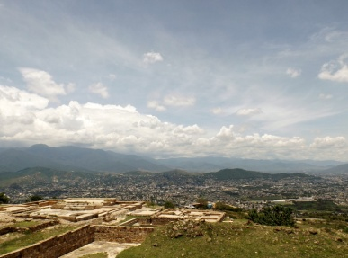 Monte Alban Surrounding City