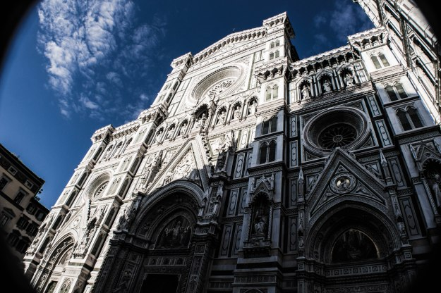 The facade of the Duomo di Firenze. Photograph by Ryan Shields